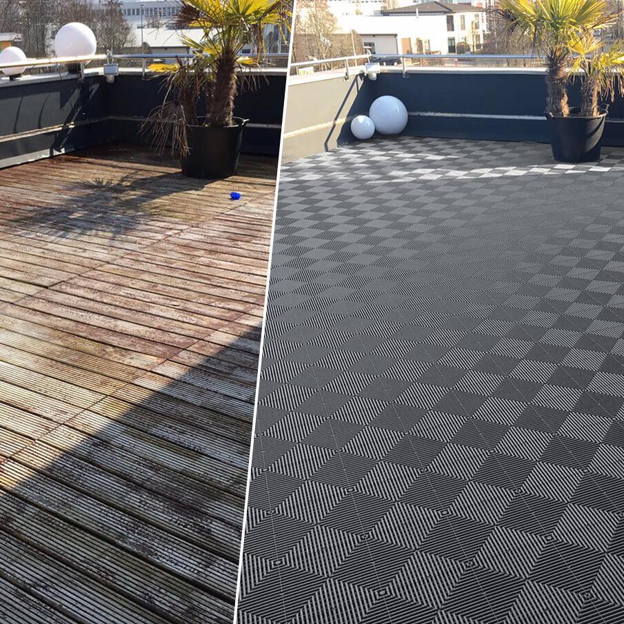 Bodenbelag für die Terrasse   Performance Floor